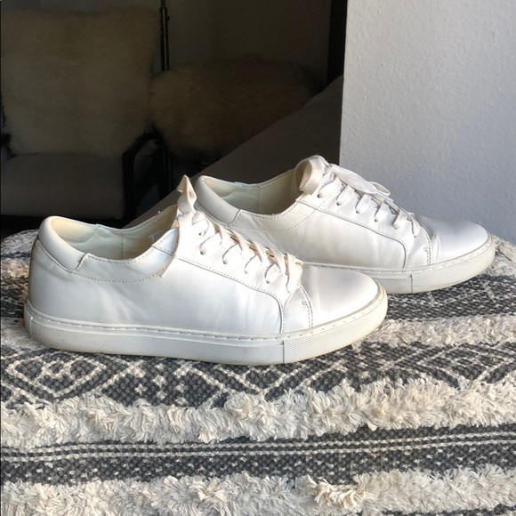 Kenneth Cole Kam Leather Sneaker White